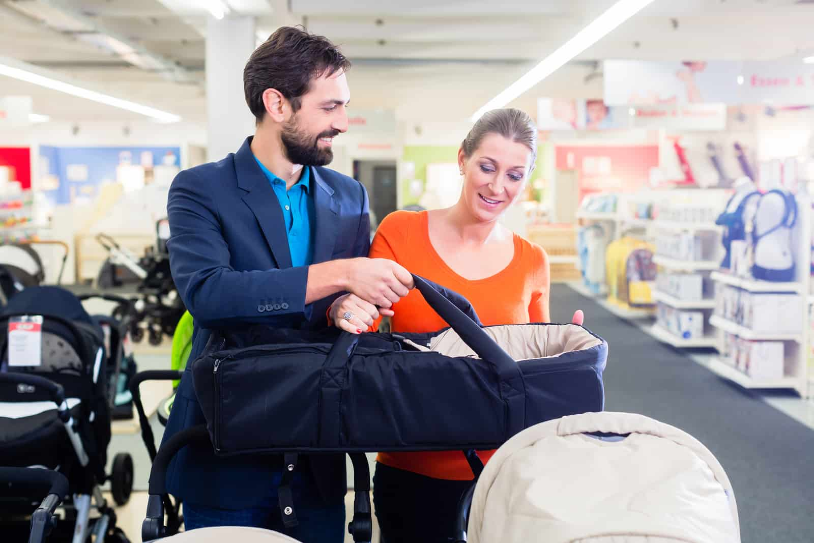 new baby prams will have the latest features