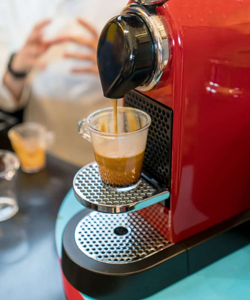 A stylish looking espresso machine to showcase the best automatic coffee machine 2019 has on offer.