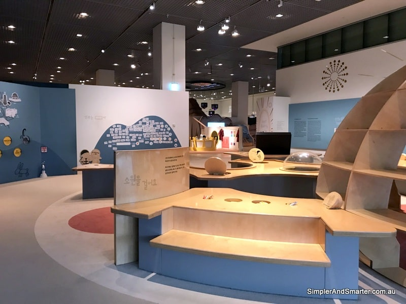 children's museum at the National Museum of Korea