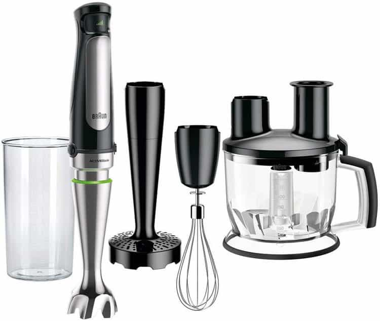 best stick blender 2020 with the Braun blender