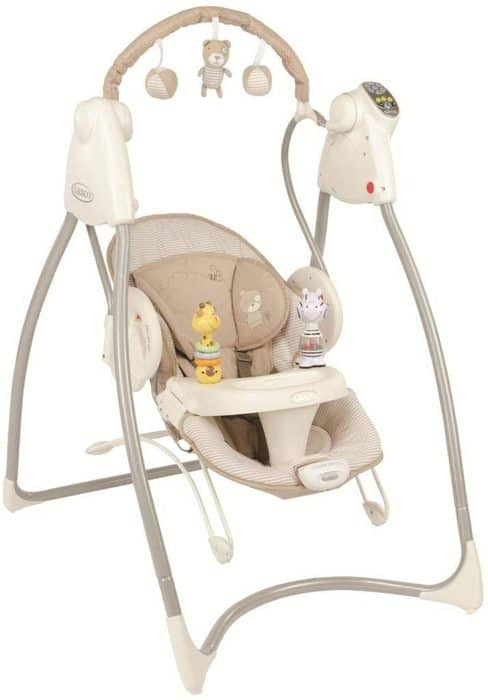 baby swing rocker bouncer in this choice of the best baby swings Australia