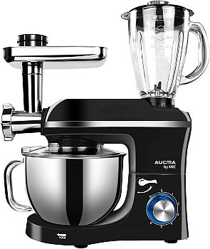 Aucma by Mic Stand Mixer 3 in 1 Multifunction Stand Mixer